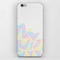 Angry Ab Pastel iPhone Skin