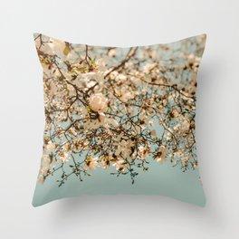 Falling Into Spring Throw Pillow