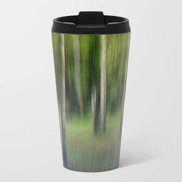 flickering birches Travel Mug