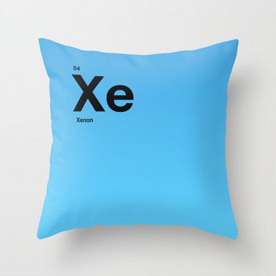 Xenon Throw Pillow