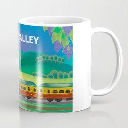 Napa Valley, California - Skyline Illustration by Loose Petals Coffee Mug