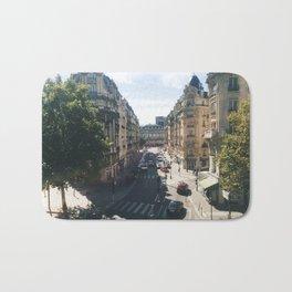 Looking Down on Paris, 12th Arrondissement Bath Mat