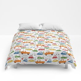 Busy Traffic Pattern Comforters