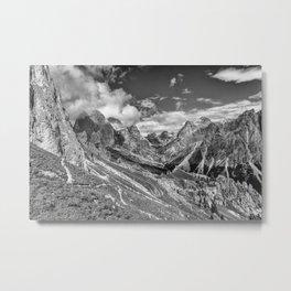 Dolomites - Rosengarten group Metal Print