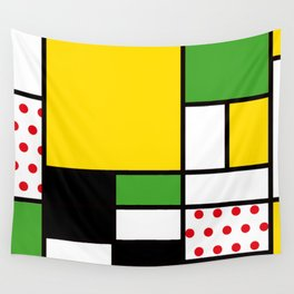 Mondrian – Bycicle Wall Tapestry