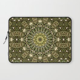 Geometric Forest Mandala Laptop Sleeve