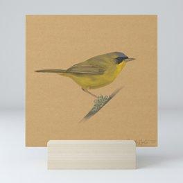Masked Yellowthroat Mini Art Print