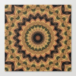 Ethnic ornament, kaleidoscope Canvas Print