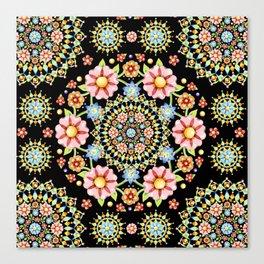 Flower Crown Bijoux Canvas Print