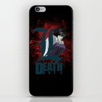 death note iPhone & iPod Skins featuring Death Note by feimyconcepts05