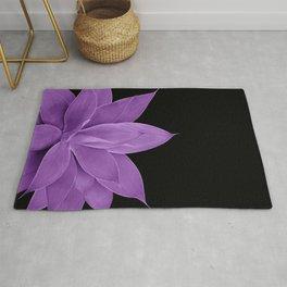 Purple Agave #1 #tropical #decor #art #society6 Rug
