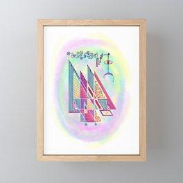 Circuitry Framed Mini Art Print