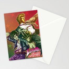 Luismi's Bizarre Adventures Stationery Cards