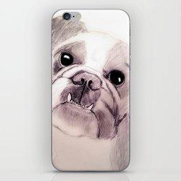 Bully Bull Dog iPhone Skin