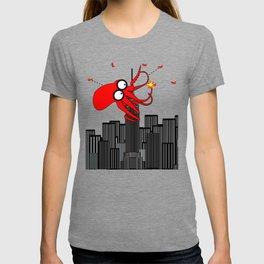 King Kraken Battles over New York T-shirt
