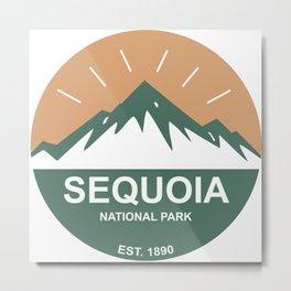 Sequoia National Park Metal Print