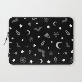 goth occult pattern Laptop Sleeve