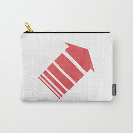 Red Orange Carry-All Pouch