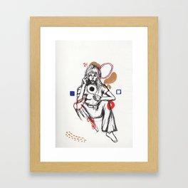 Seein' Myself  Framed Art Print