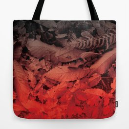 Autumn Leaves, the fall Tote Bag