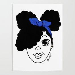 Little Black Girl Magic Poster
