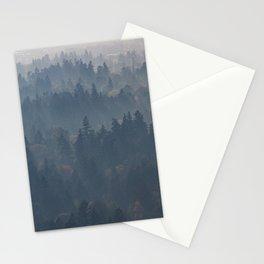 Hazy Layers Stationery Cards