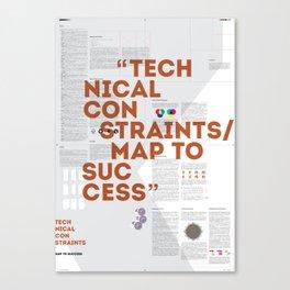 Technical Constraints Canvas Print