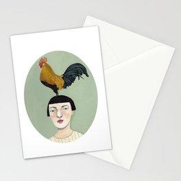 * TENGO PAJARITOS EN LA CABEZA * Stationery Cards