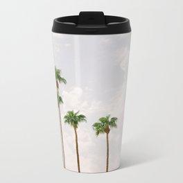 Palm Springs Palm Trees Metal Travel Mug