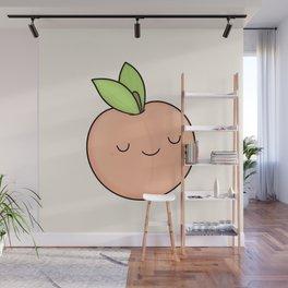 Happy Peach Wall Mural