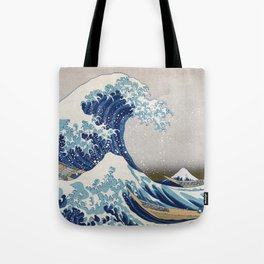 Under the Wave off Kanagawa Japanese Art Tote Bag