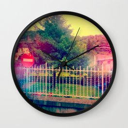 Why Here Wall Clock