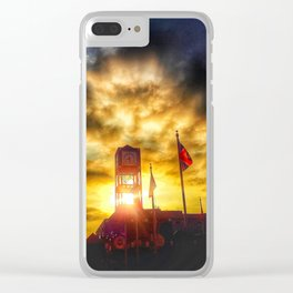 Morning In Memphis Clear iPhone Case