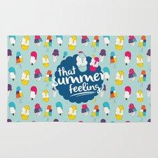 That summer feeling - Blue Rug