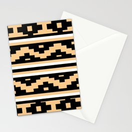 Etnico beige version Stationery Cards