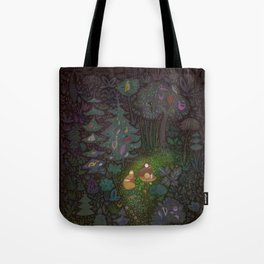 The Woods: Hansel & Gretel Tote Bag