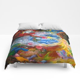 Marriage of Heaven and Hell Comforters