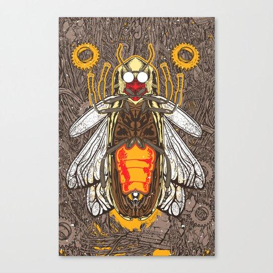 Microcosmos Lighting Canvas Print