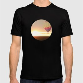 Balloons at Sunset T-shirt