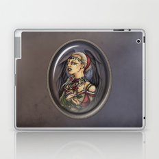 Marooned - Gothic Angel Portrait Laptop & iPad Skin