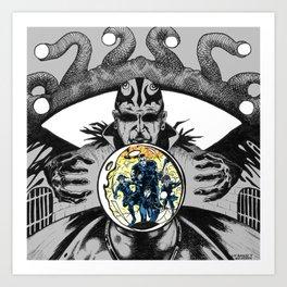 """Jailbreak!"" - Dungeons & Doritos Art Print"