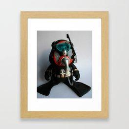 SCUBA Bub Framed Art Print