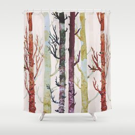 the real florest Shower Curtain