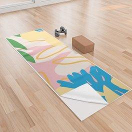 Floral Mix Yoga Towel