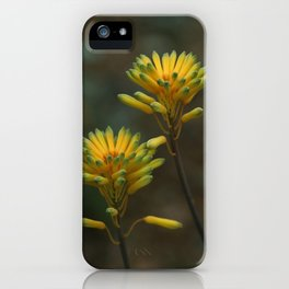 Yellow Blossoms iPhone Case