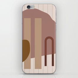 // Shape study #25 iPhone Skin