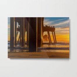 The End of the Pier Metal Print