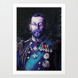 King George V Art Print
