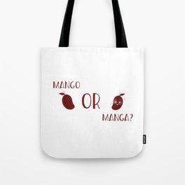 Mango Or Manga Tote Bag