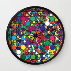 Covalent Geometric Art Print. Wall Clock